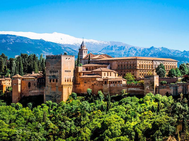 cidade murada em Granada