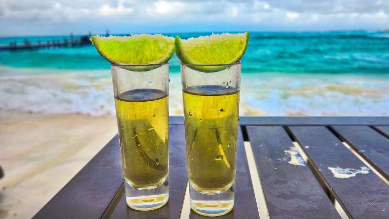 Valor das bebidas em Cancún