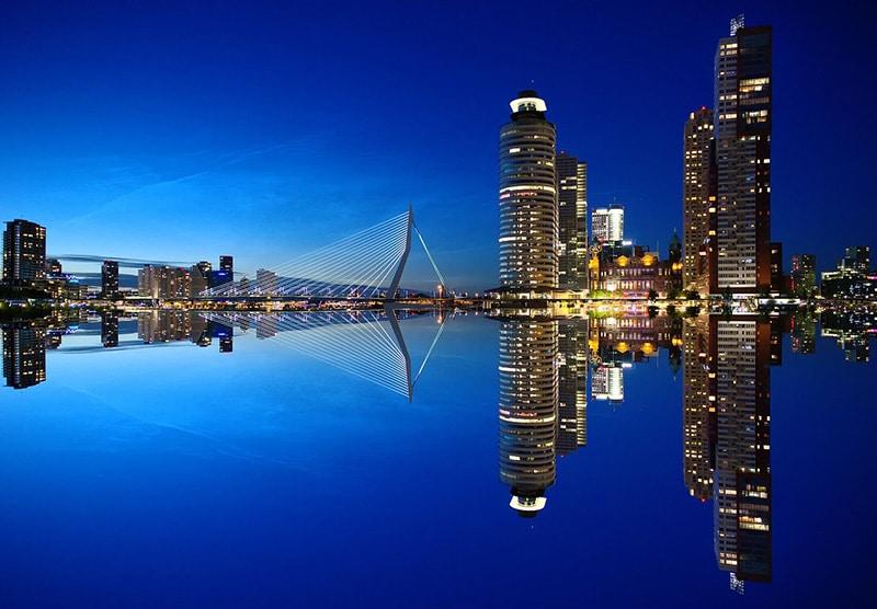 Morar em Roterdã
