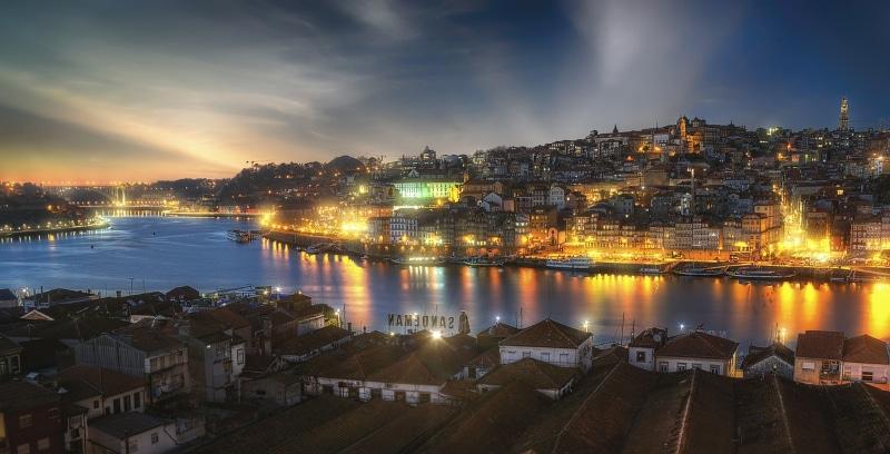 Distância entre Setúbal e Porto