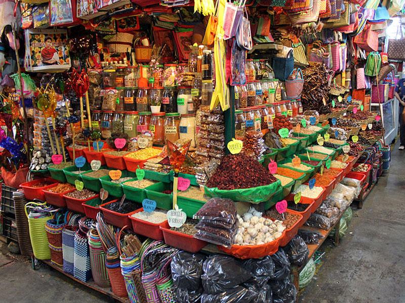 Mercados em Oaxaca