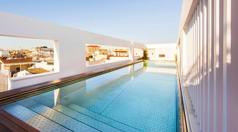 Hotel com vista em Sevilha
