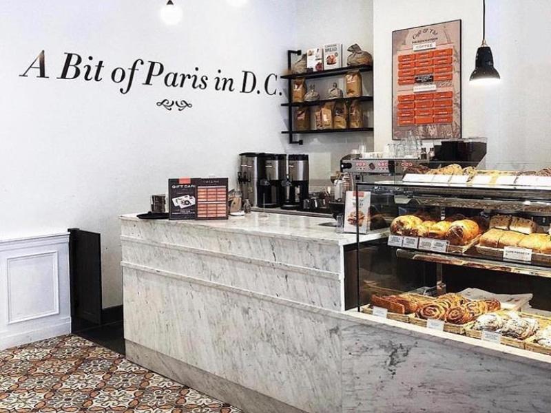 Tomar café da manha em Manhattan