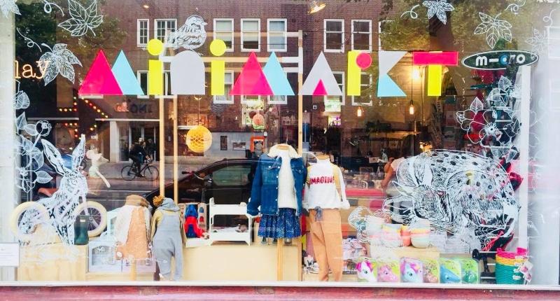 Loja para crianças em Amsterdam