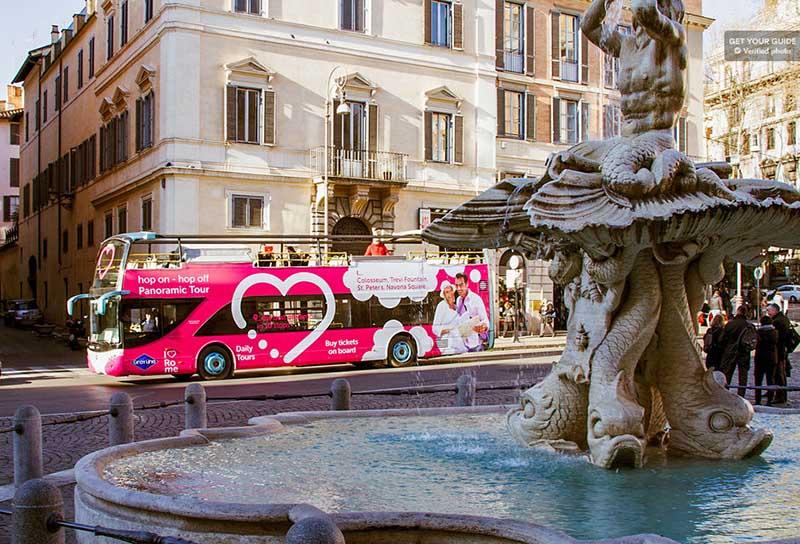 atividade turística em Roma