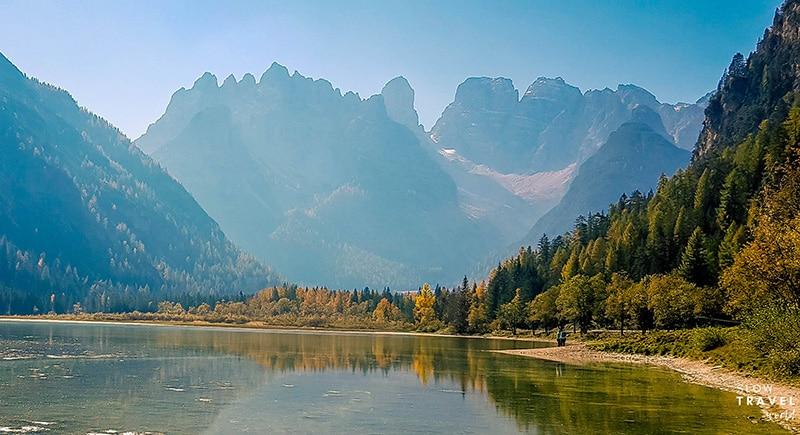 Trilhas nas Dolomitas