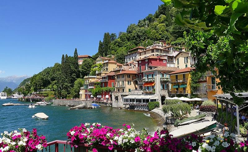 Cidades do Lago de Como