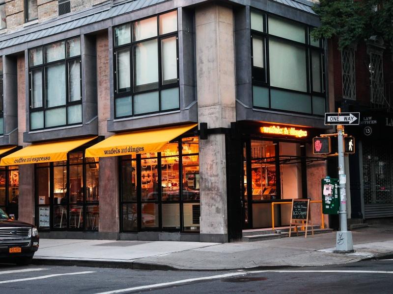 Onde comer Waflle no cafe da manha em Manhattan