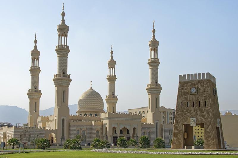 Templos mais bonito Emirados Árabes