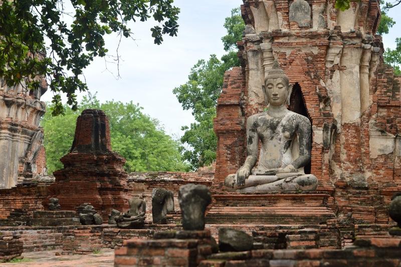 Ruínas Tailândia