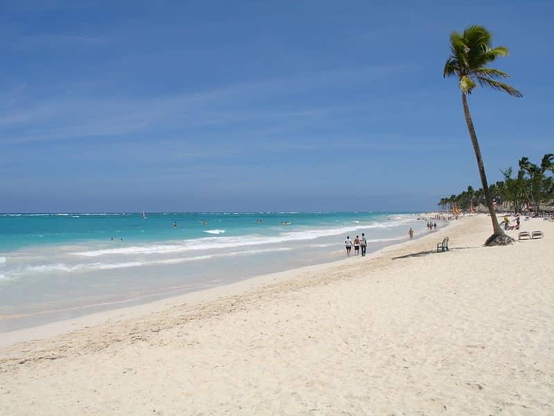 Praia Bávaro, em Punta Cana