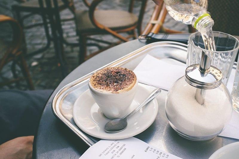 cafeteria em Roma