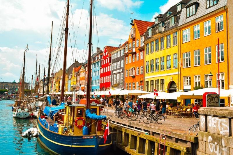 Pontos turísticos em Copenhague