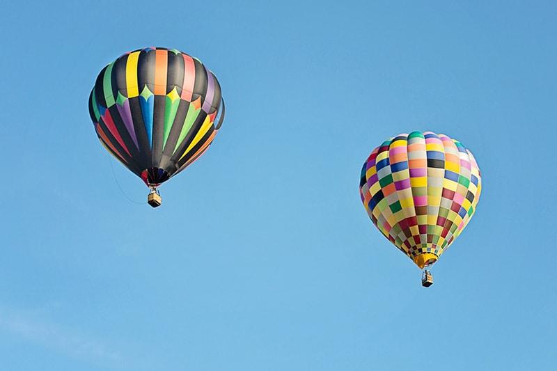 Passeio de balão em Campos do Jordão