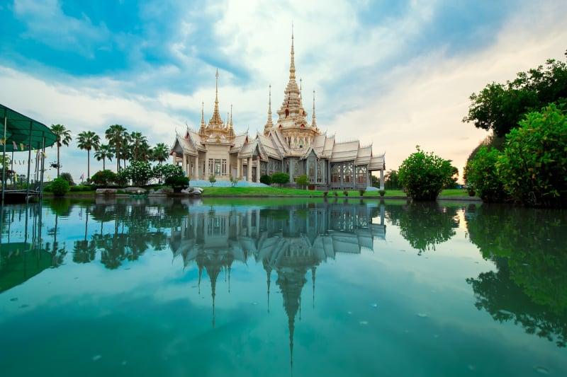 Locais históricos na Tailândia