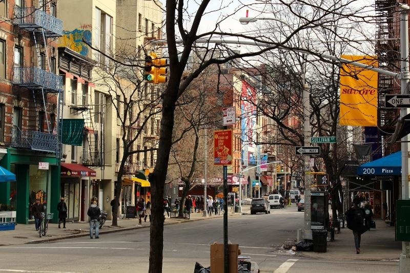 Lugares desconhecidos em Nova York