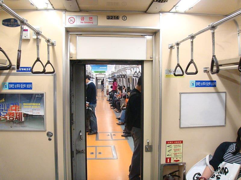 Como é o metrô de Seul