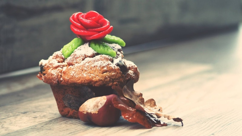 Ode comer Muffin no café da manhã em Manhattan