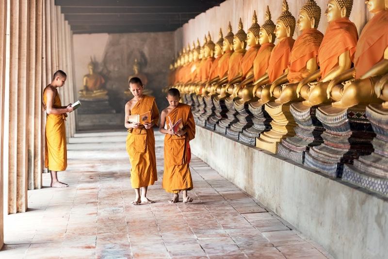 Pontos de interesse da Tailândia