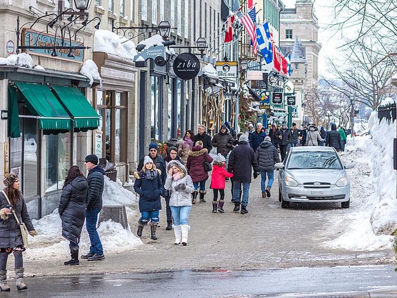 Alta e baixa temporada Quebec City