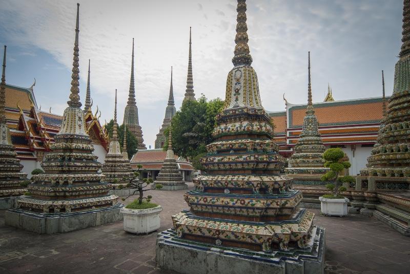 Templos famosos da Tailândia