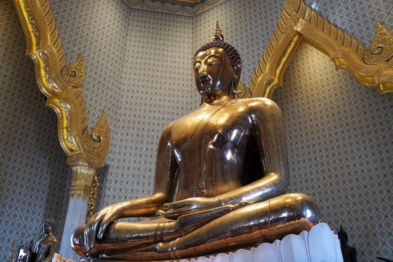 Buda de ouro Tailândia