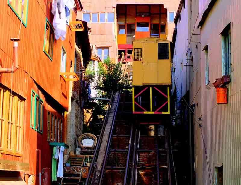 Atrações em Valparaíso