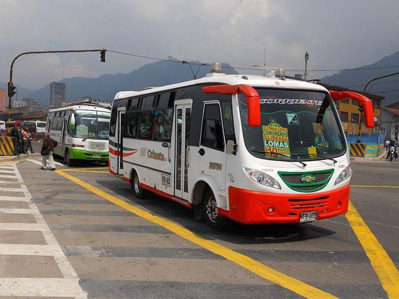 Sair do aeroporto de Bogotá
