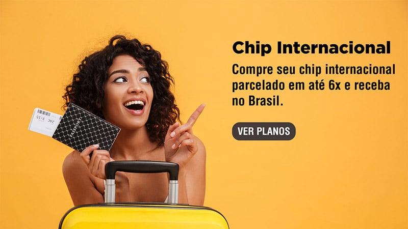 Chip internacional Europa comprar no Brasil