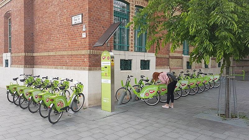 Bicicleta em Budapeste