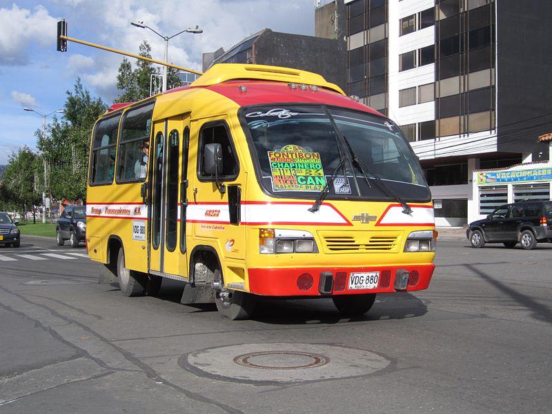 Van em Bogotá
