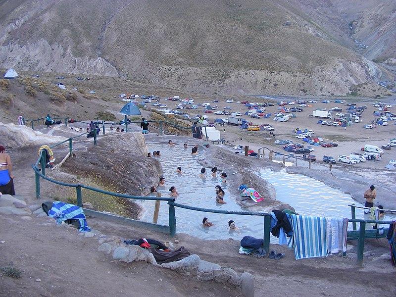 Pontos turísticos em Cajon del Maipo