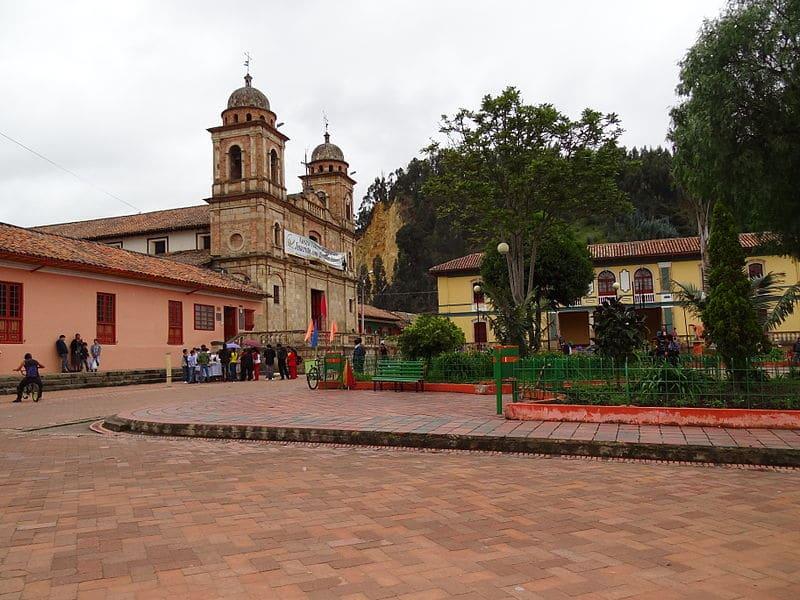Pontos turísticos perto de Bogotá