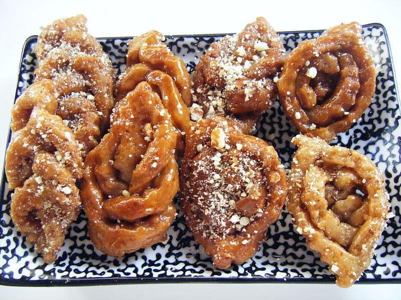 comidas típicas do Marrocos doces