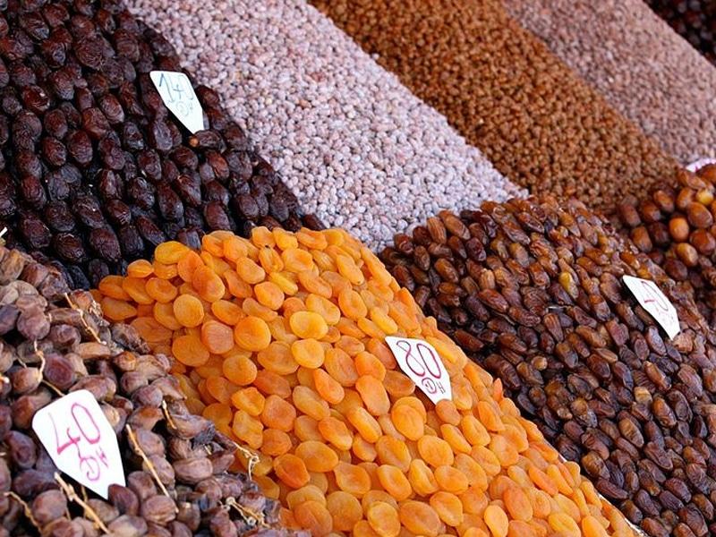 comidas típicas do Marrocos com frutas