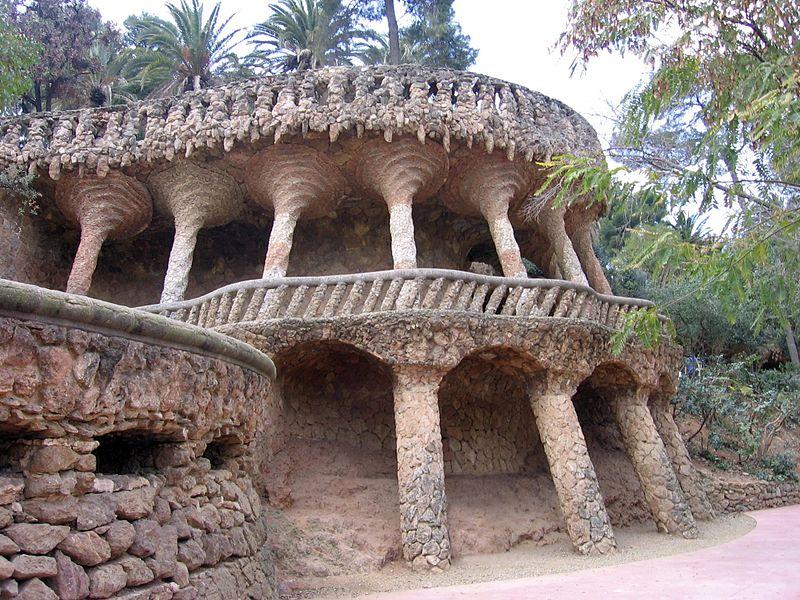Parque Güell em Barcelona - quais espaços visitar