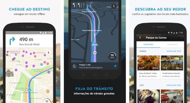 como usar o google maps no modo noturno