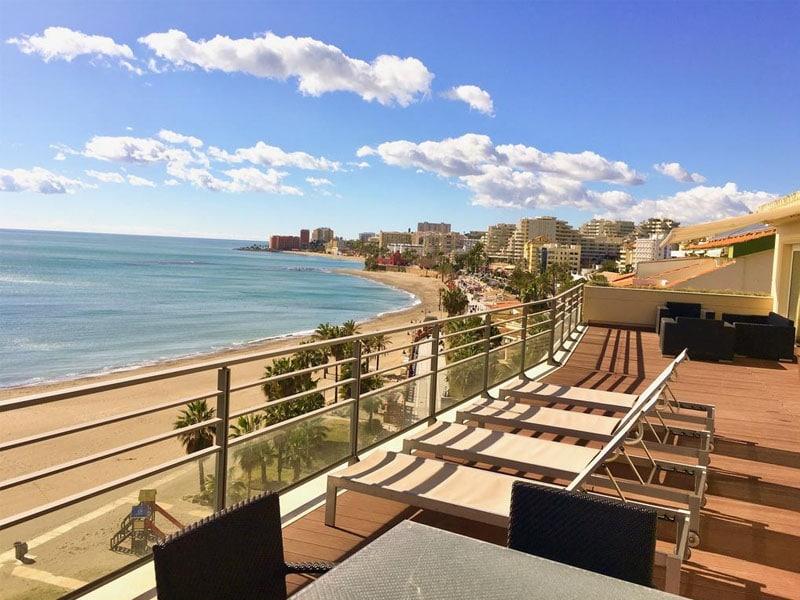 Hotéis na Espanha em frente ao mar