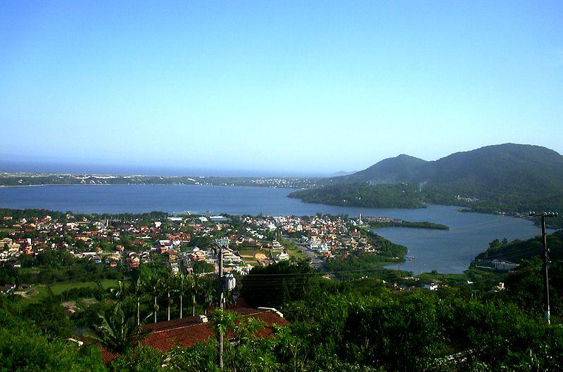 Lagoa da Conceição perto de Camboriú