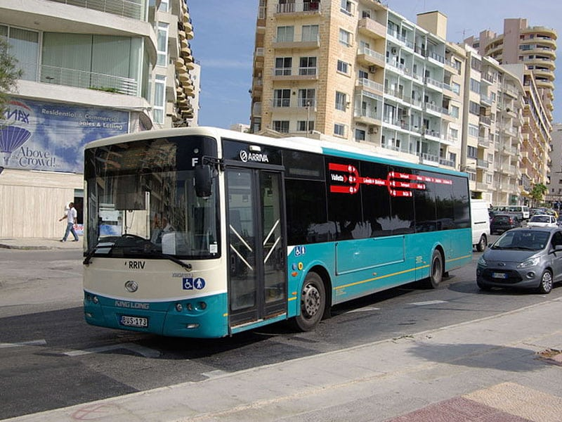 Transporte em Valletta