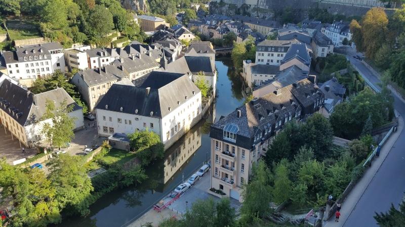 Como chegar em Luxemburgo de carro