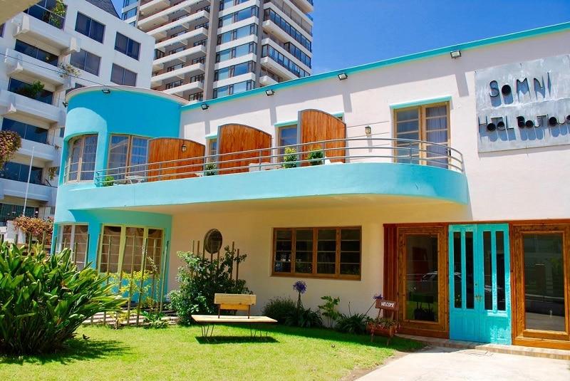 Opções de hotéis em Viña del Mar