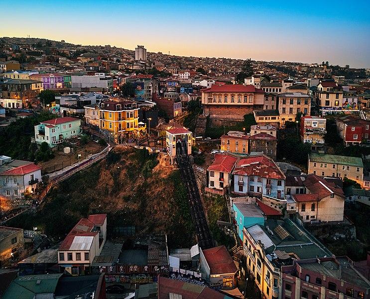 Passeios em Valparaíso e Viña del Mar