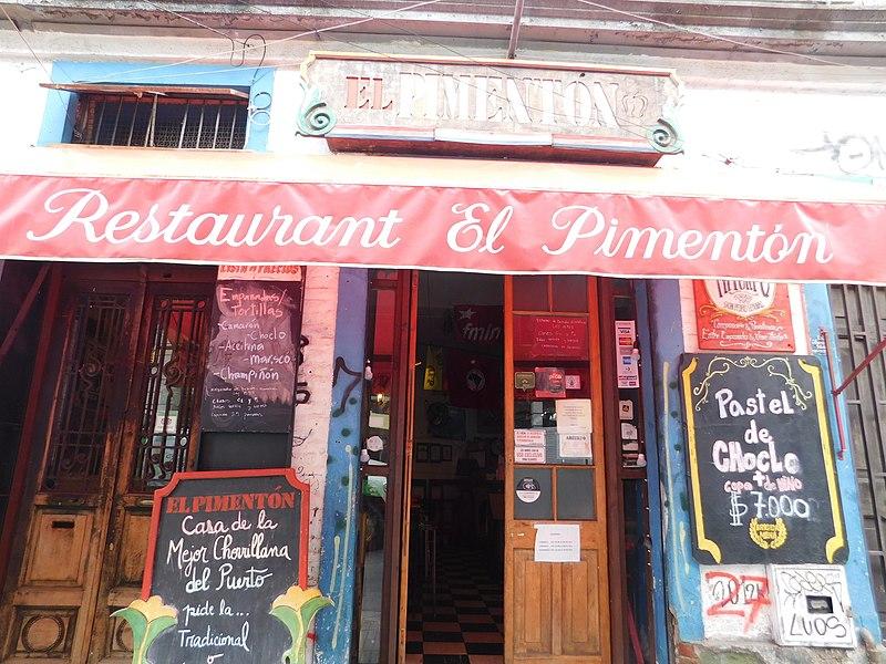 Restaurante em Valparaíso