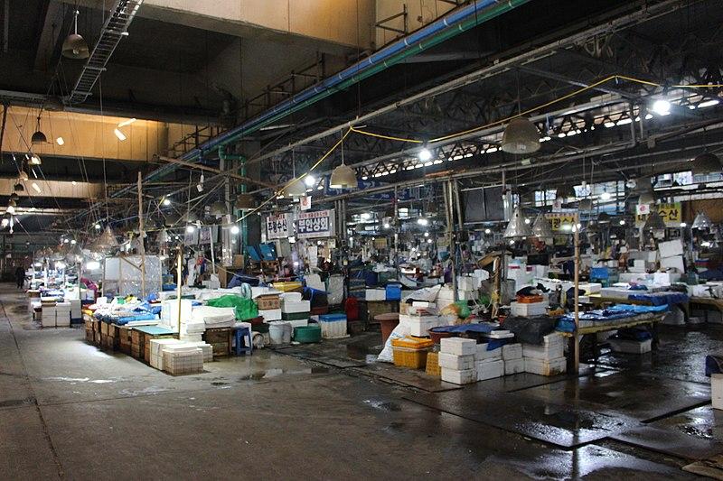 Mercado de Peixes Seul