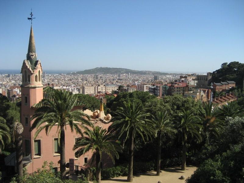 Parque Güell em Barcelona como chegar