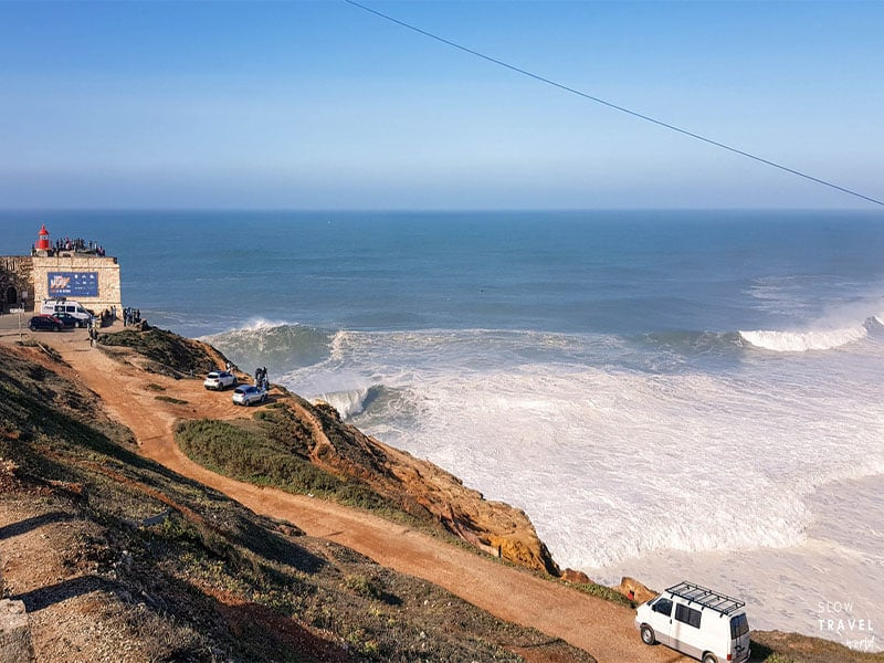 Ondas gigantes em Portugal