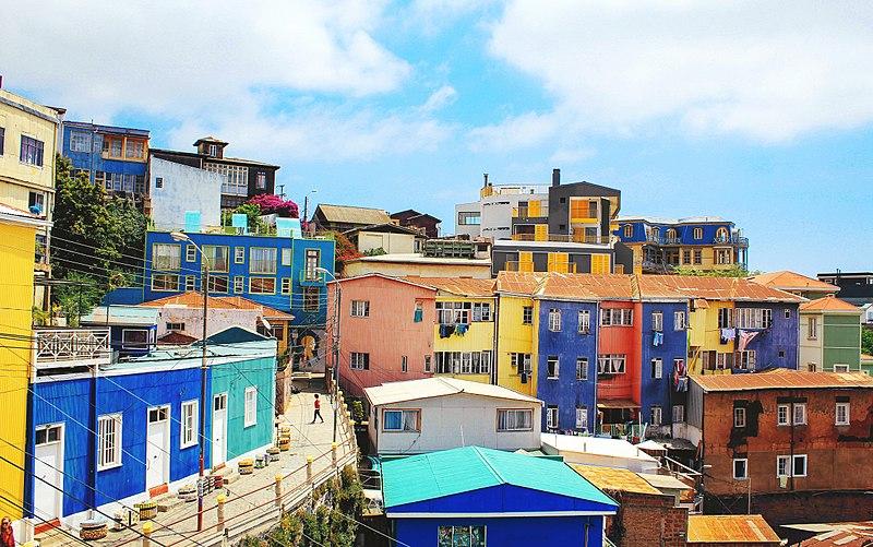 Opções de onde ficar em Valparaíso