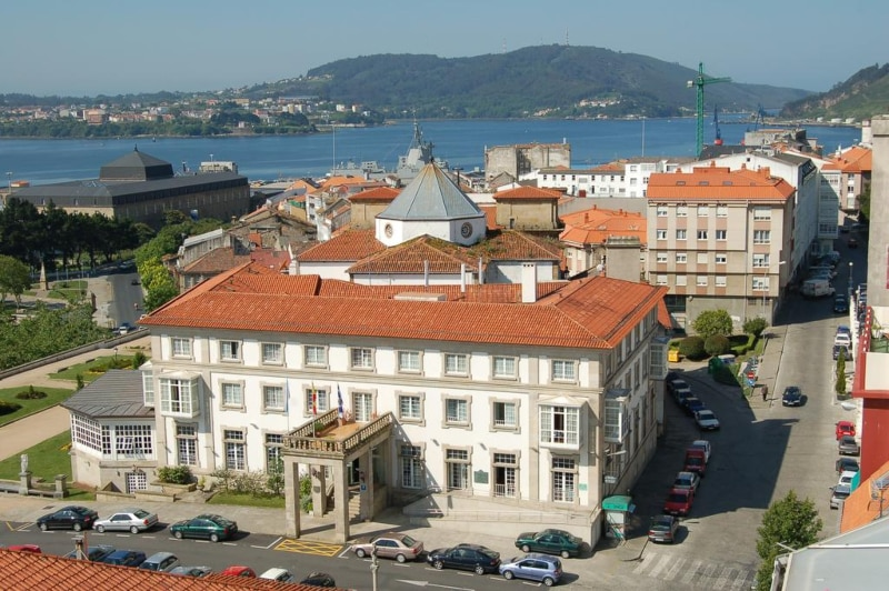 Parador de Ferrol Caminho de Santiago de Compostela