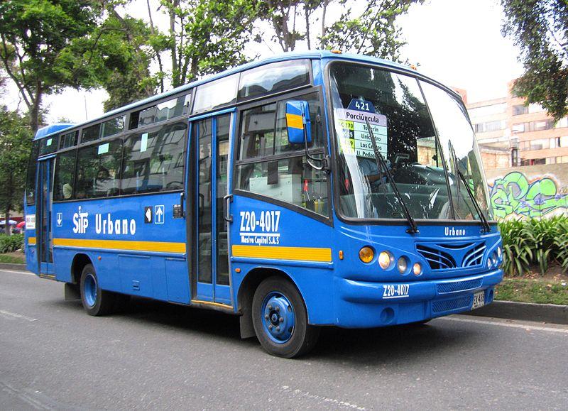 Ônibus em Bogotá